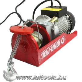Elektromos csörlő 150/300Kg